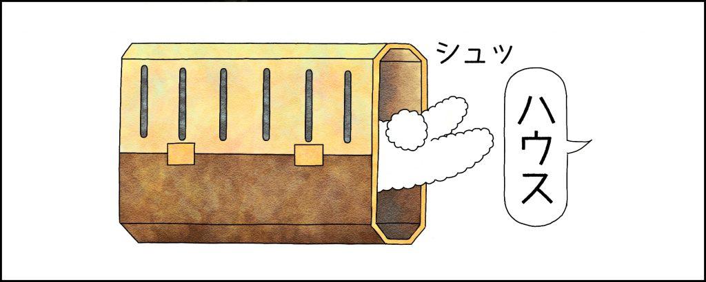 【STEP6】クレートに入るためのコマンドを覚えてもらう